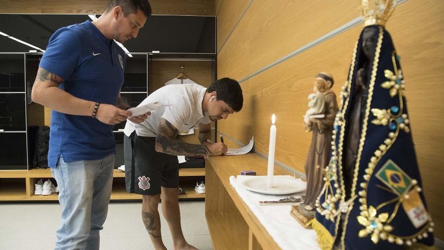 Corinthians usará a fé de sua torcida em ação de marketing com lançamento prevista ainda para 2019 - Daniel Augusto Jr./Agência Corinthians
