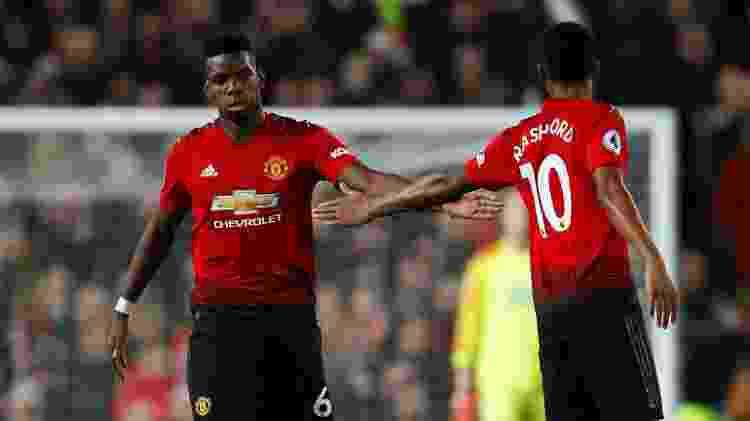 Pogba e Rashford são um dos principais jogadores do 'novo' United - Jason Cairnduff/Reuters - Jason Cairnduff/Reuters