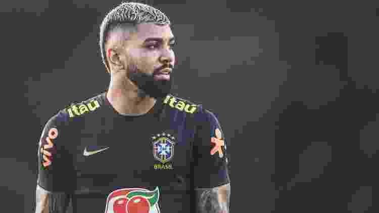 Gabriel, atacante do Flamengo e da seleção brasileira - Pedro Martins/Mowa Press - Pedro Martins/Mowa Press