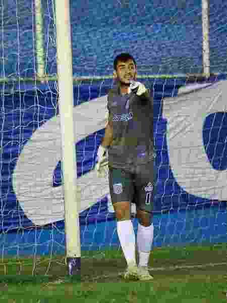 Goleiro Adilson, um dos líderes do time do Goytacaz - Carlos Grevi/Comunicação Goytacaz Futebol Clube