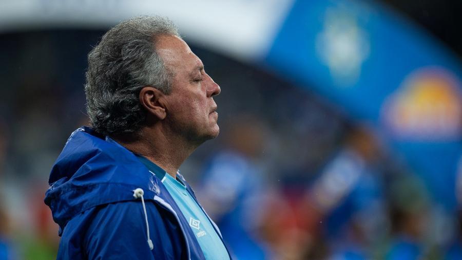 Cruzeiro só perdeu uma vez com Abel, mas ainda apresenta muitas deficiências na caminhada contra o rebaixamento - Bruno Haddad/Cruzeiro