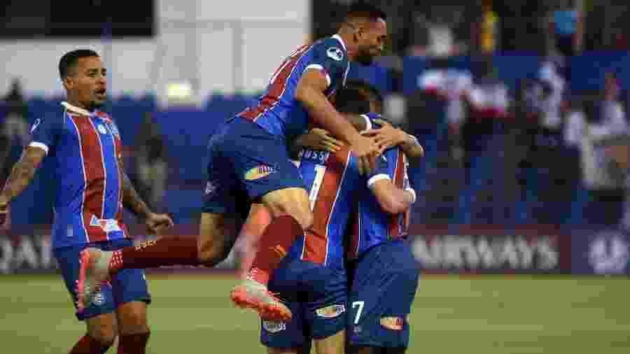 Time principal do Bahia abre a rodada dupla de sábado, em jogo da Copa do NE - Daniel Duarte/AFP