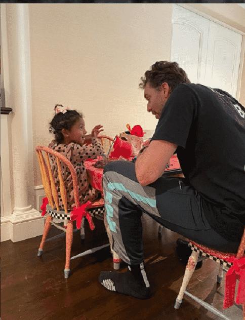 Pau Gasol comemora o aniversário de 40 anos ao lado das filhas e da mulher de Kobe Bryant - Reprodução/Instagram