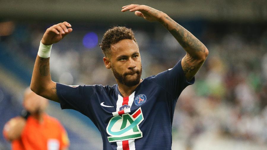 Neymar conquistou três títulos com o PSG em 2020 - Jean Catuffe/Getty Images