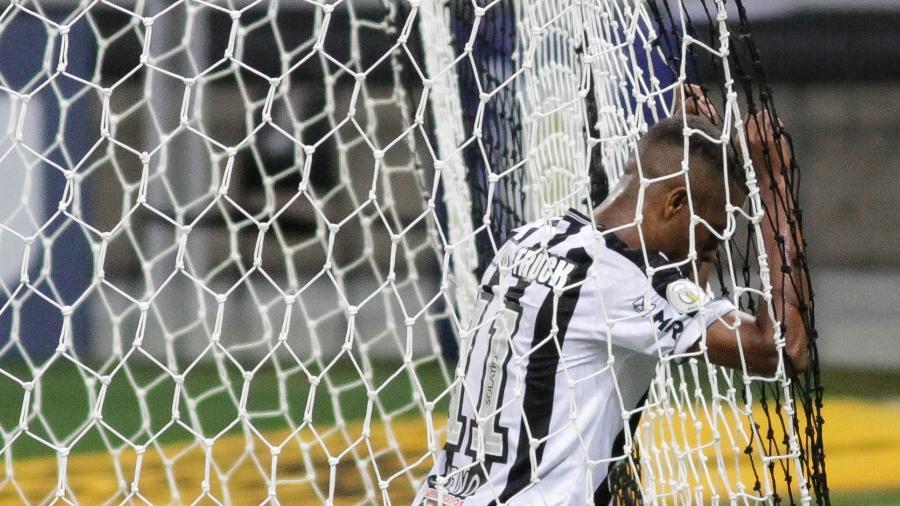 Artilheiro do Atlético em 2020, Keno fez nove jogos nesta temporada e marcou apenas um gol - Fernando Moreno/AGIF
