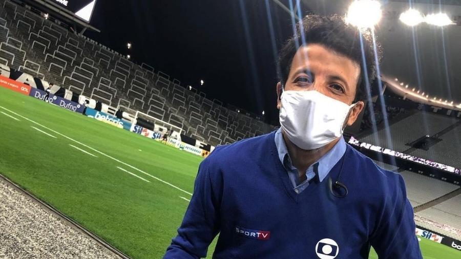André Hernan, repórter da Globo: será enviado para cobrir in loco Mundial de Clubes - Reprodução/Instagram