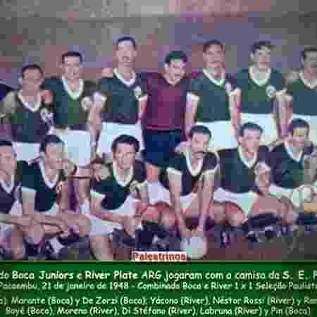 River - Reprodução Palmeiras - Reprodução Palmeiras