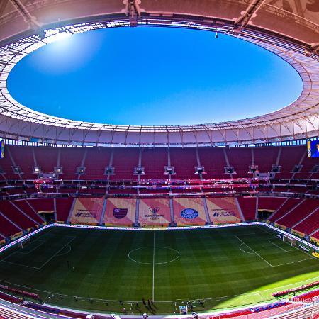 Estádio Mané Garrincha será uma das sedes da Copa América no Brasil - Marcelo Cortes / Flamengo