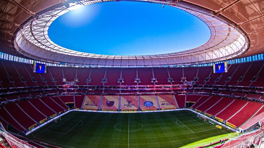 Estádio Mané Garrincha - Marcelo Cortes / Flamengo
