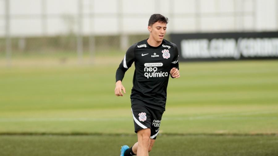 Gustavo Mantuan em treino do Corinthians - Rodrigo Coca/Agência Corinthians