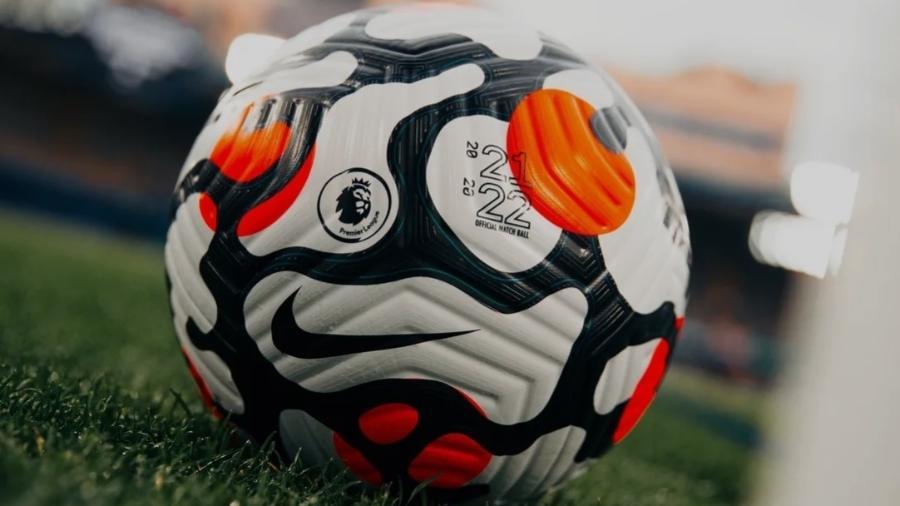 Bola da temporada 21/22 da Premier League (Campeonato Inglês) - Reprodução/PremierLeague.com