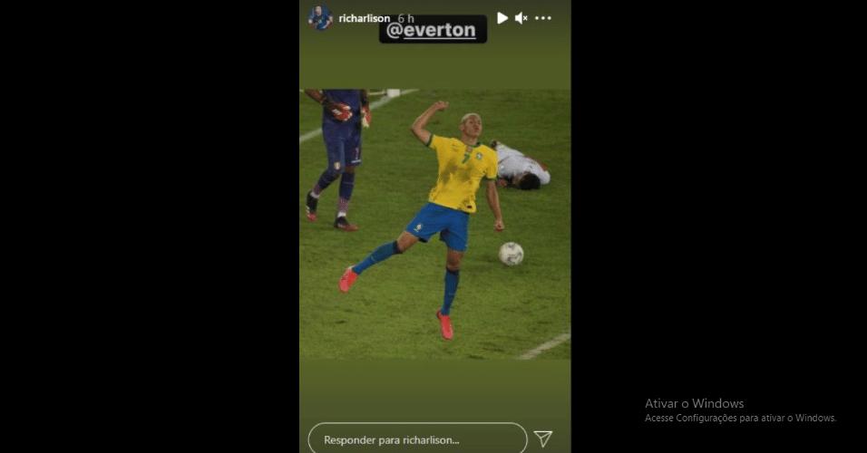 Richarlison repudia não liberação à seleção brasileira