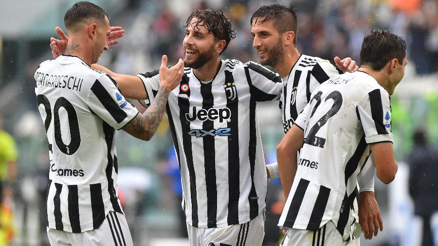 Juventus comemora vitória contra o Sampdoria no Campeonato Italiano - REUTERS