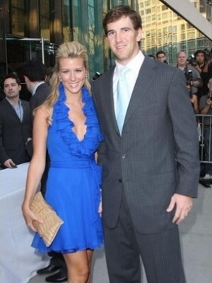 Abby McGrew, mulher de Eli Manning, do New York Giants