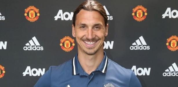 Ibrahimovic projeta sucesso com a camisa do United