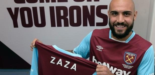 Zaza foi anunciado como novo reforço do West Ham - Arfa Griffiths/West Ham United