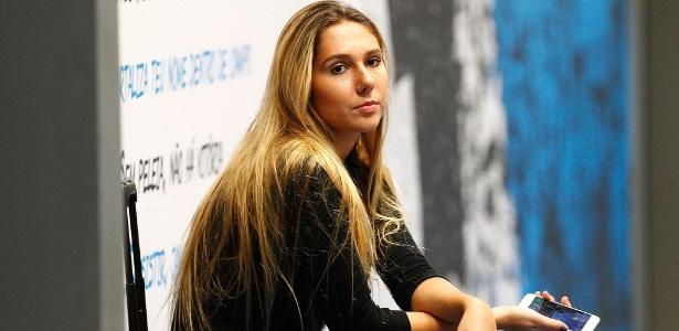 Carol Portaluppi, filha do técnico Renato Gaúcho