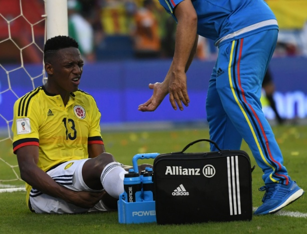 Yerry Mina terá três dias de recuperação antes do decisivo jogo contra o Atlético-MG