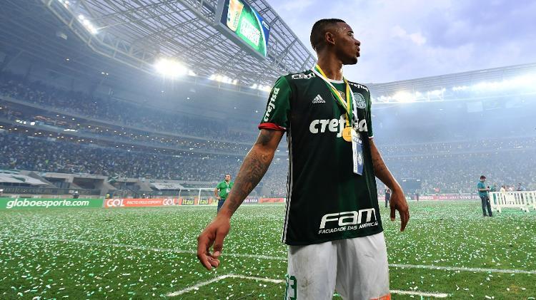 Gabriel Jesus saiu do Palmeiras como melhor jogador do Campeonato Brasileiro de 2016 - Nelson Almeida/AFP