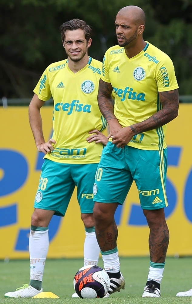 Palmeiras Hyoran Felipe Melo