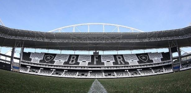 Estádio do Botafogo está no centro da polêmica entre as partes