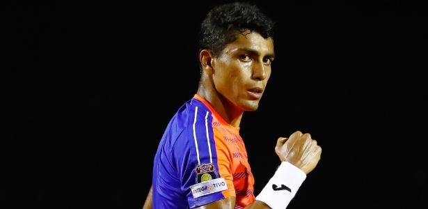 O brasileiro Thiago Monteiro assume vaga deixada por Djokovic após lesão no cotovelo - Buda Mendes/Getty Images