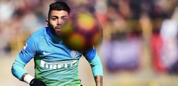 Gabigol em ação pela Inter de Milão