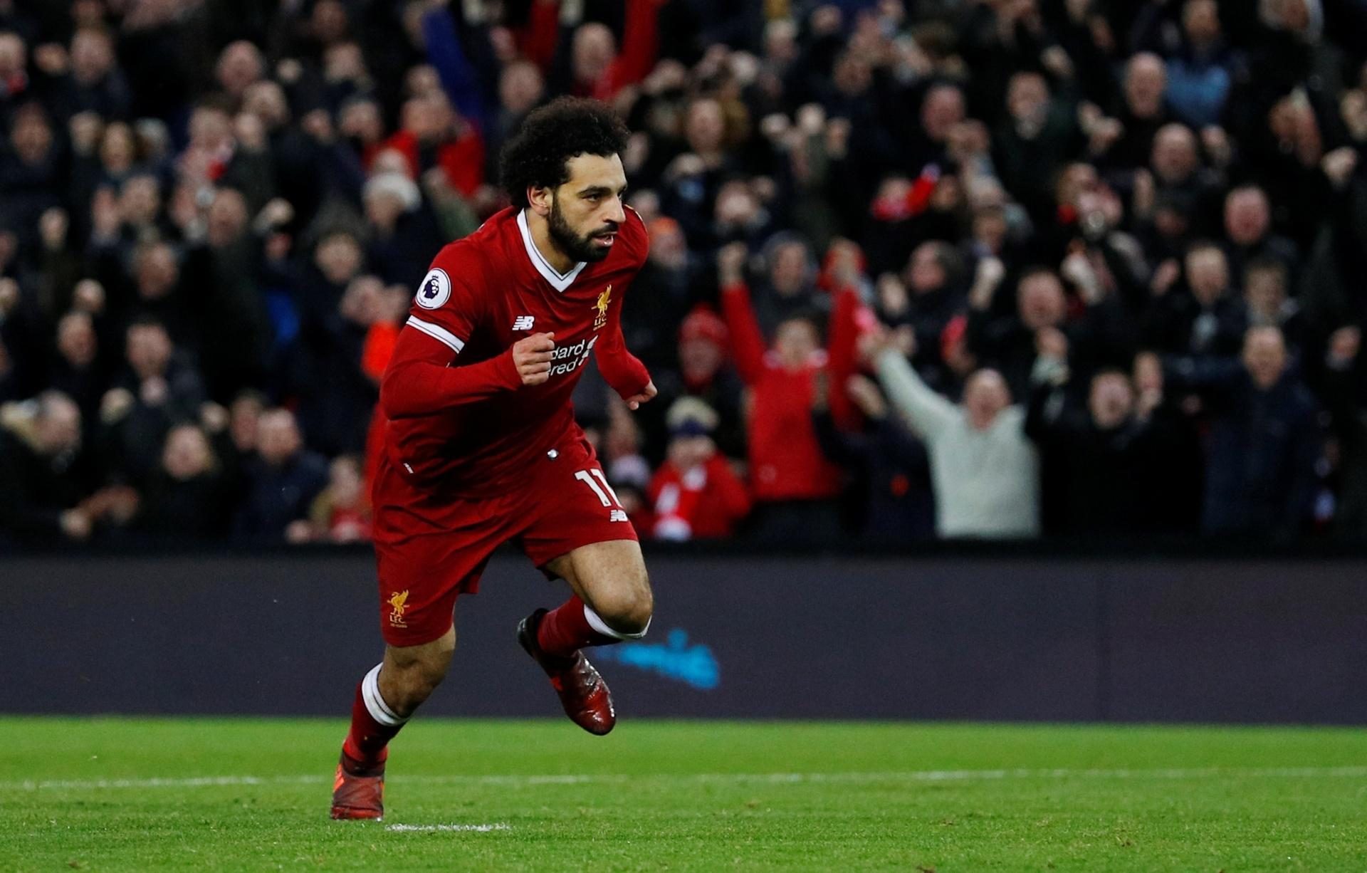 Liverpool busca virada sobre o Leicester com golaços de artilheiro Salah -  30 12 2017 - UOL Esporte 9b7bb783cbdf9