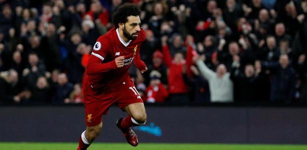 Destaque do Liverpool, Salah é um dos artilheiros do Campeonato Inglês
