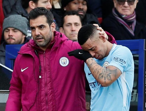 Até dois meses fora: Guardiola divulgou o primeiro diagnóstico da lesão de Gabriel Jesus