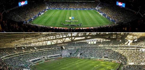 Arenas de Corinthians e Palmeiras foram inauguradas na temporada 2014
