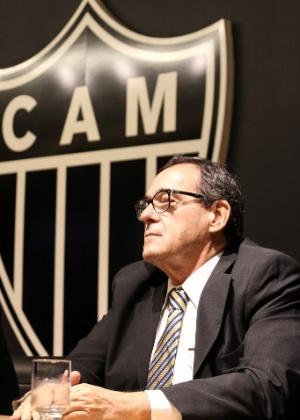 Bebeto de Freitas foi apresentado como diretor do Atlético em 14 de dezembro de 2017