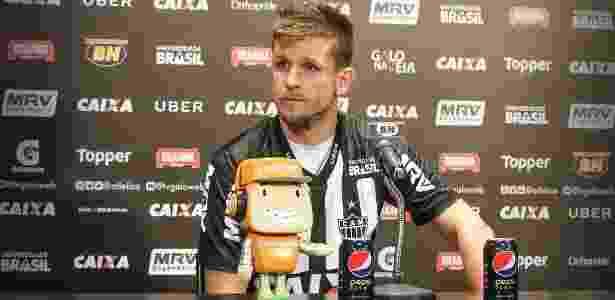 Volante assinou por empréstimo até o fim do ano; Atlético terá opção de compra - Bruno Cantini/Atlético-MG