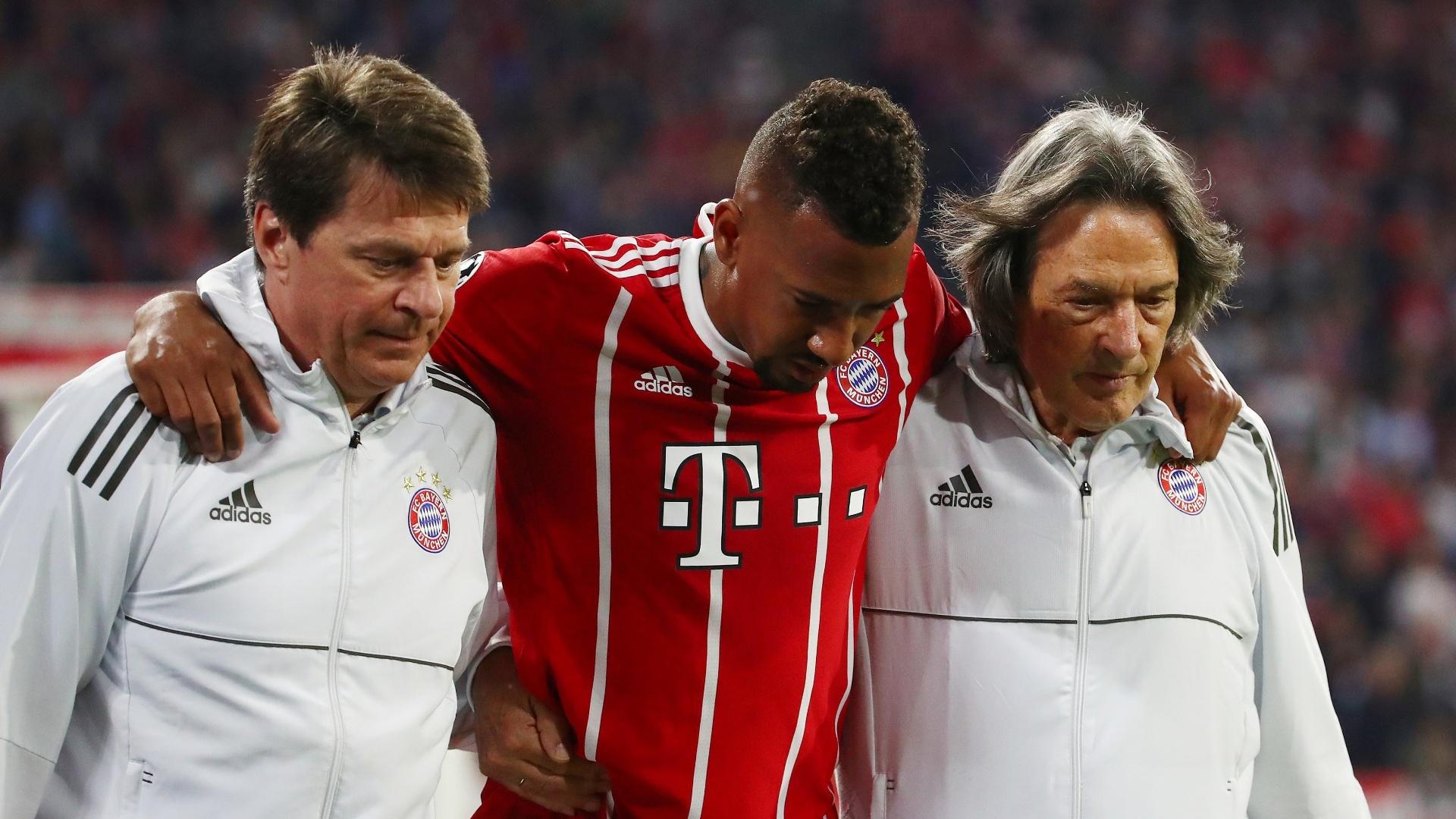 Boateng também se lesiona e precisa ser substituído em Bayern de Munique x Real Madrid, pela Liga dos Campeões