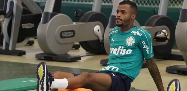 Felipe Pires tem sido elogiado por Felipão e foi titular em jogo-treino - Cesar Greco/Ag. Palmeiras/Divulgação