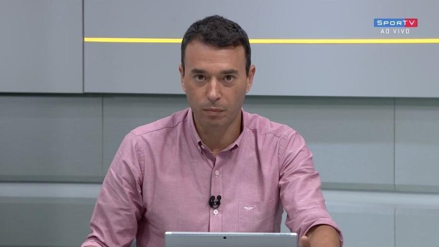 André Rizek critica atuações da Seleção Brasileira - SporTV/Reprodução