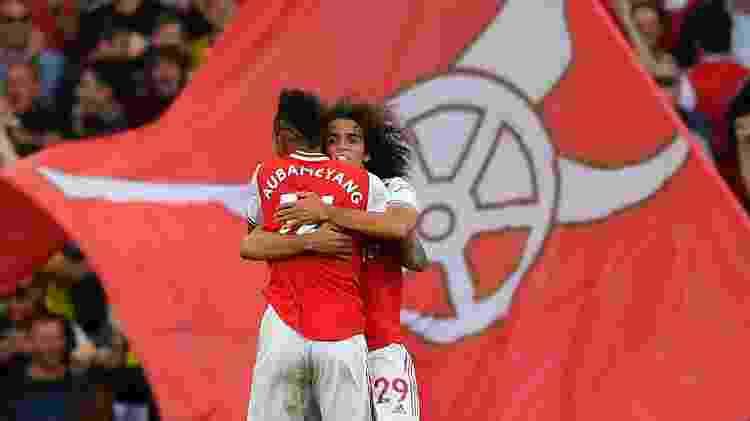 Arsenal Aubameyang - Ben Stansall/AFP - Ben Stansall/AFP