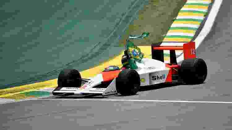 Bruno Senna Interlagos - Douglas Magno/AFP - Douglas Magno/AFP