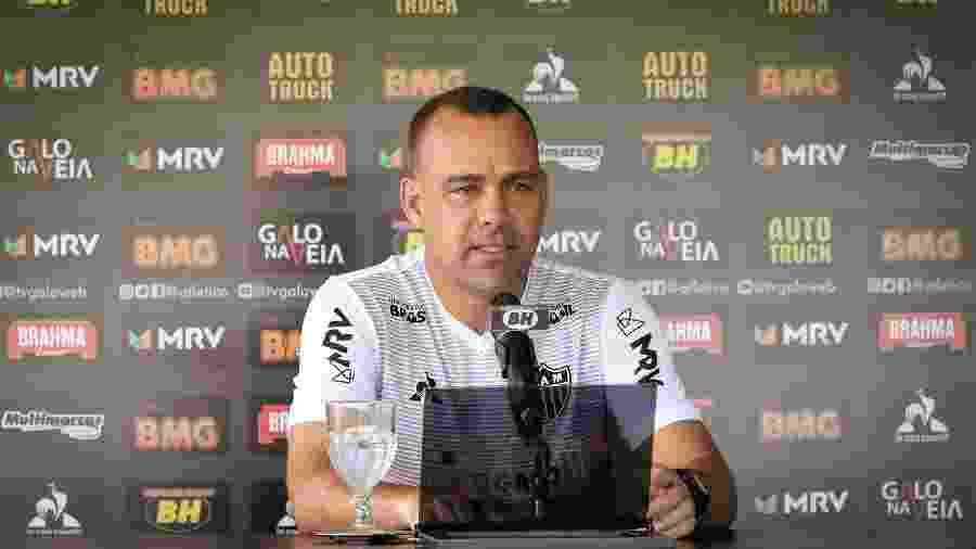 Rafael Dudamel é o atual treinador do Atlético-MG. Ele já fez pedidos à diretoria no mercado da bola - Bruno Cantini/Divulgação/Atlético-MG