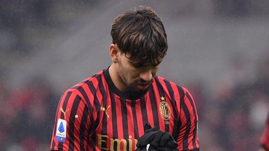 Lucas Paquetá, durante jogo do Milan - Mattia Ozbot/Soccrates/Getty Images