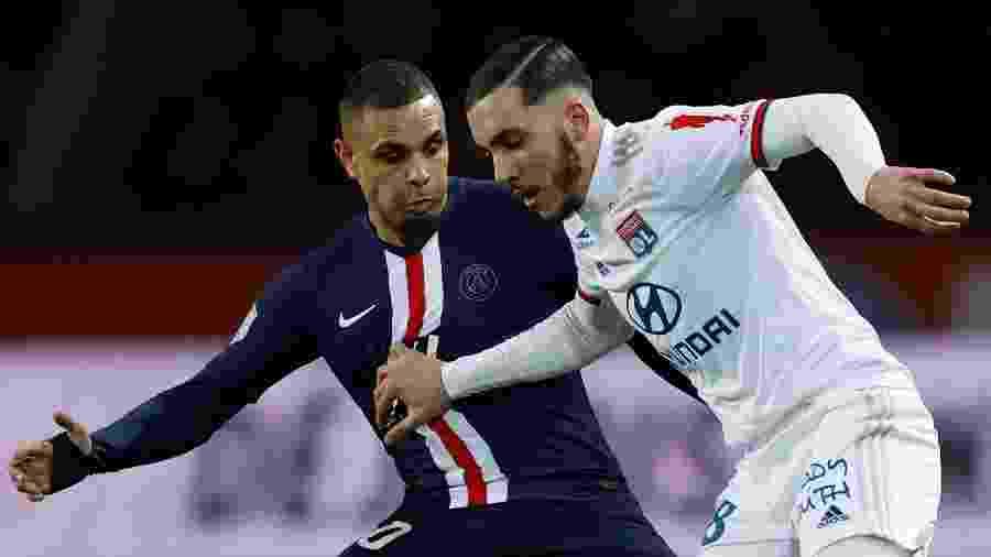 Jovem Rayan Cherki deve renovar seu contrato com Lyon e não aceitar oferta do Real Madrid - Christian Hartmann/REUTERS