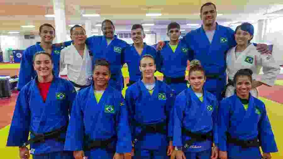 Seleção de judô treina em Lima - Abelardo Mendes Jr/Ministério da Cidadania