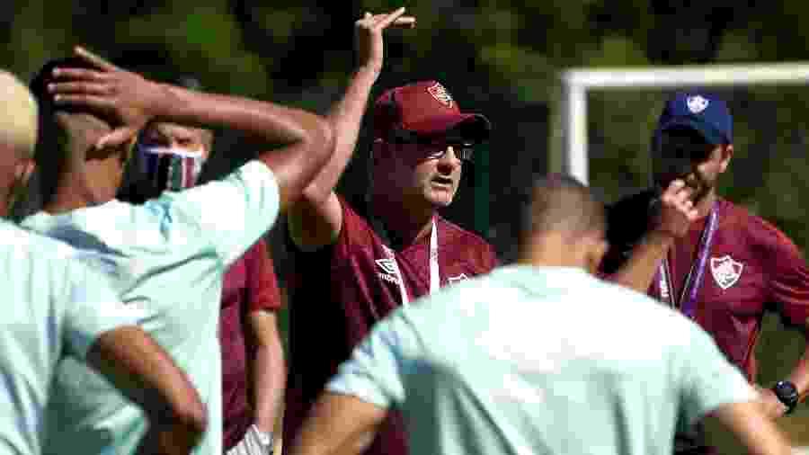 Odair Hellmann quer levar o Fluminense para a parte de cima da tabela - Mailson Santana/Fluminense FC