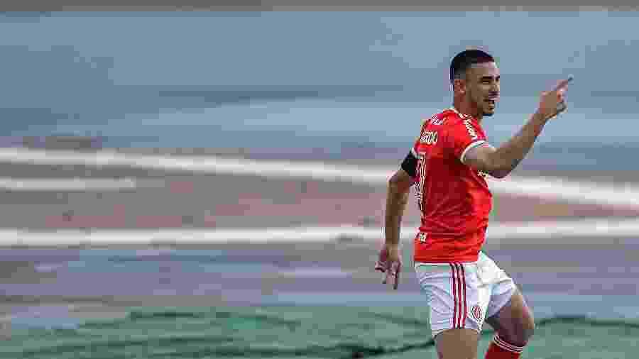 Thiago Galhardo é o principal destaque do Internacional na temporada - Thiago Ribeiro/AGIF