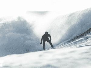 'Big riders' são surfistas especializados em ondas gigantes - Ana Catarina - Ana Catarina