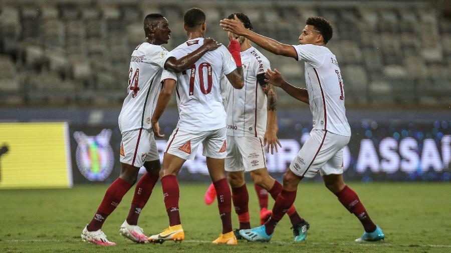 Com soluções internas, Fluminense reinventou para se estabelecer no G-6 do Brasileirão - Lucas Mercon/Fluminense FC