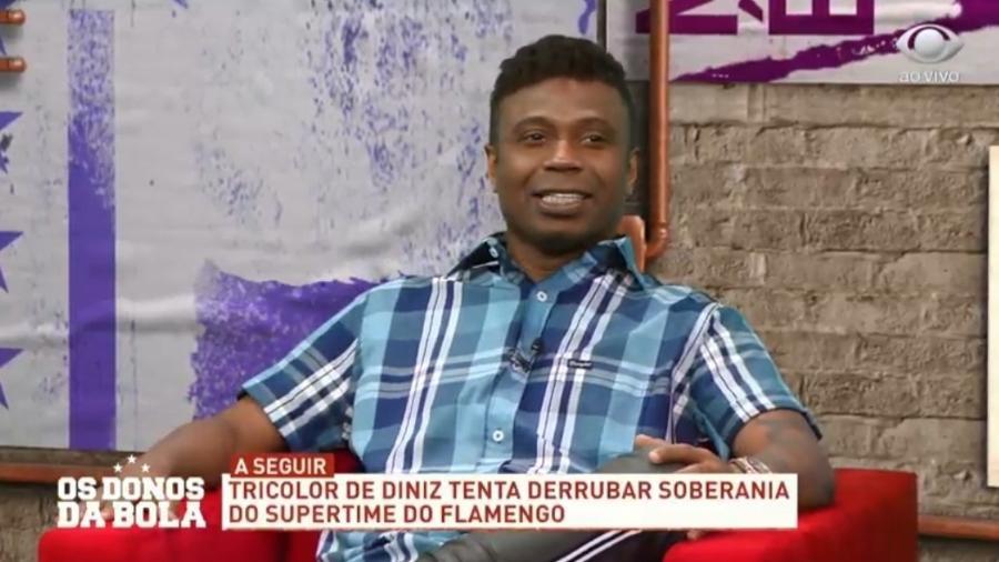 Edílson Capetinha diz que foi mais importante que Rivaldo na Copa de 2002 - Reprodução/Band