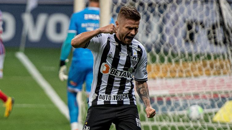 Eduardo Sasha, do Atlético-MG, é avaliado nos bastidores do São Paulo - Alessandra Torres/AGIF - Alessandra Torres/AGIF