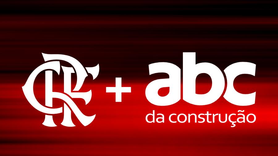 Flamengo anuncia parceria com ABC da Construção - Reprodução site oficial Flamengo