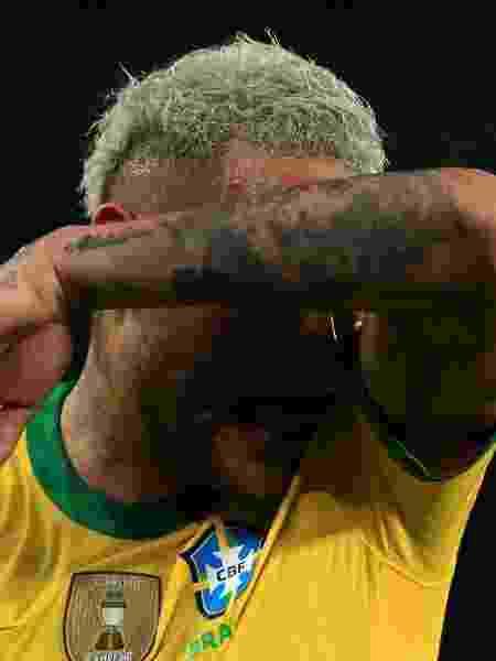 Neymar perdeu boa chance e viu Brasil empatar sem gols com Chile no primeiro tempo - Buda Mendes/Getty Images - Buda Mendes/Getty Images